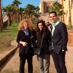 With Spanish Colleagues in Rabat