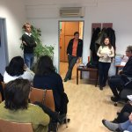 Visit of the delegation at the Vienna Anti-Discrimination Unit for Lesbian, Gay and Transgender People