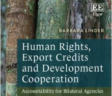 Human Rights, Export Credits and Development Cooperation: Accountability for Bilateral Agencies