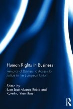 Finale Publikation: Human Rights in Business Removal of Barriers to Access to Justice in the European Union