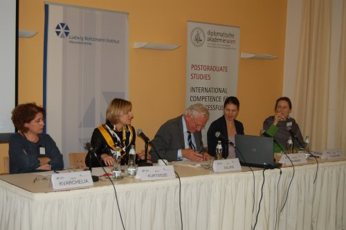 Seminar on Georgia and Peaceful Conflict Resolution