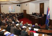 Kick-off ceremony in the Parliament of the Republic of Croatia, 24.01.2012