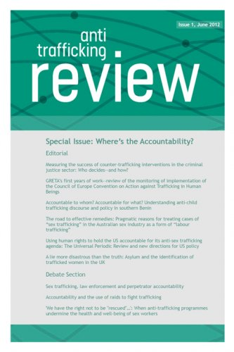 Cover: Anti-Trafficking Review, Issue 1, June 2012