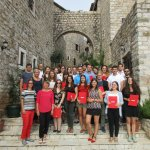 Participants of the Straniak Academy 2016 in Ulcinj, Montenegro