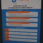 Poster human rights conditionality