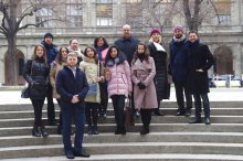 Group photo at the Uninversity of Vienna