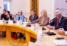 Participants at the closing conference (c) Austrian Embassy Kiev