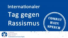 21.03.2021: Internationaler Tag gegen Rassismus