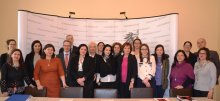 Group Photo at the Austrian Ombudsman Board