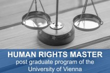 """Human Rights Master"" - postgraduate program of the University of Vienna"