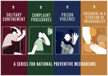 New Publications: Monitoring prison Conditions in the EU: A Handbook Series for National Preventive MechanismP