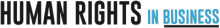 Projekt Human Rights in Business [Logo]