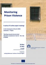 Monitoring Prison Violence: A series of 3 online expert meetings, Part 2